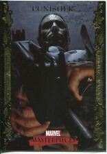 Marvel Masterpieces 2007 UD Gold Border Parallel Base Card #66 Punisher