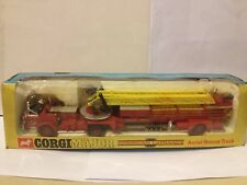 Vintage CORGI MAJOR American LaFrance Aerial Rescue Truck BOXED Cat 1143