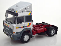 Iveco Turbo Star 1988 silber AUF ACHSE LKW  Road Kings 180074 1:18 Modell