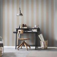 Erismann Cassiopeia Quality Luxury Grey Beige Stripes Lines Wallpaper 177131
