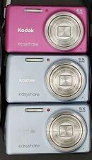 Kodak Easyshare M552 14.0 MP- Camera- Silver/Blue & Magenta/Pink