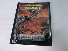 Shadow of the Beast für Atari Lynx - Neu in Folie