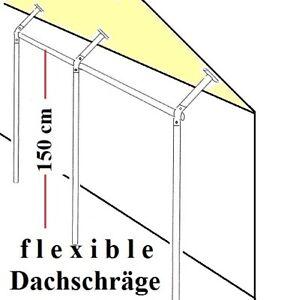 Dachschräge 3 Varianten Wandkleiderständer Kleiderstange Garderobe St.09.150-300
