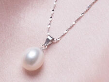 Cleopatra Freshwater Pearl Set Silver-plated - Includes Necklace Earrings & Ring