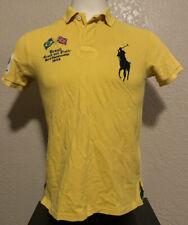 Polo Ralph Lauren Men's Medium Custom Fit Brazil Track and Field Rugby Shirt M