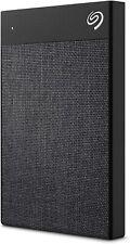 Seagate Backup Plus Ultra Touch 2TB External Hard Drive – Black USB-C USB 3.0