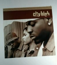 CITY HIGH PHOTO FLAT DOUBLE SIDED 12x12 MUSIC POSTER
