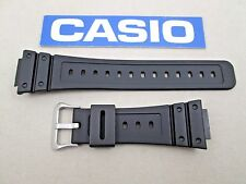 Genuine Casio G-Shock DW-5600BB DW-D5600P black resin rubber watch band