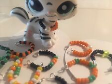 Lps necklaces, 10 Halloween beaded necklaces for lps... LPS Toy Not Included