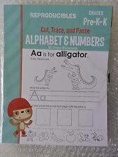 Alphabet and Numbers Common Core Reproducible Pre k to k