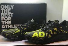 Adidas Men's Vigor Bounce M Trail Runner Black/Shock Slime/Black Size 11