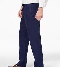 Tasso Elba Men's Linen Drawstring Pants Size M