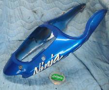 1998 zx9r rear tail fairing plastic bodywork factory blue zx9 zx 9r 900 99