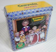 CRAYOLA Crayon Tin 64-Ct Mary Engelbreit (2001) - New, Sealed!
