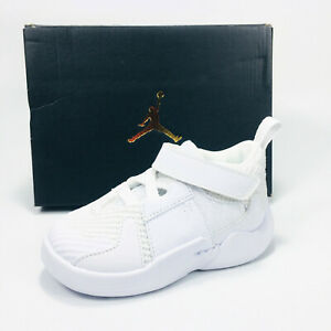 Nike Jordan Why Not Zer0.2 Shoes Boy's White / Off White AT5720-101 NEW