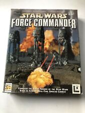 Star Wars Force Commander Windows 95/98 Complete - Very Rare In This Condition