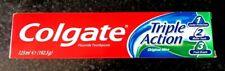6 x Colgate Original Triple Action Toothpaste Mint Breath White Teeth 125ml,