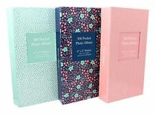 6 x 4 Designer Photo Album With 300 Pockets - Green