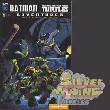BATMAN TEENAGE MUTANT NINJA TURTLES TMNT ADVENTURES #1 1:10 BARTA VARIANT IDW