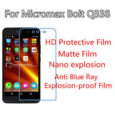 3pcs For Micromax Bolt Q338 HD Protective,Matte Anti Scratch Screen Protector