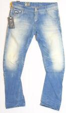 G-Star Raw 50783 ARC 3D Slim Lt Aged W34 L34 RRP £141.99 Blue Hack Denim Jeans