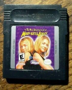 New Adventures of Mary-Kate & Ashley (Nintendo Game Boy) VG Shape & Tested
