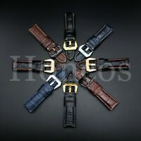 20-22-24MM LEATHER WATCH BAND STRAP FOR TAG HEUER CARRERA TANK BUCKLE CLASP