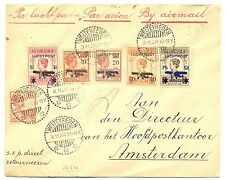 NED INDIE DUTCH INDIES 1928-11-3   FLIGHT  COVER   F/VF