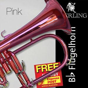 Pink STERLING Bb Flugelhorn • Case • Brand New Flugel Horn • FREE EXPRESS POST!!
