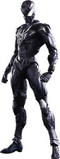 "SPIDERMAN - 10"" Black Suit Variant Play Arts Kai Action Figure (Square Enix)"