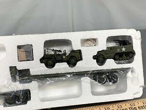 Mack Semi Truck ARMY Dodge WC-57 Half Track Cargo 1:64 Hamilton Auth. NEW! 2005
