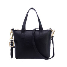 Womens Leather Handbag Shoulder Bags Crossbody Tote Purse Messenger Satchel Bag