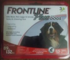 New listing Frontline Plus 3 Doses Flea and Tick Treatment for Extra Large 89 to 132 lbs Dog