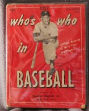 Who's Who In Baseball 1957 Mickey Mantle Vintage