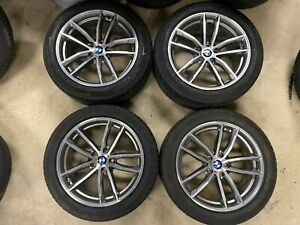 """18"""" INCH Genuine BMW 5 SERIES ALLOY WHEELS RFT  G30 style 662m sport WITH TPMS"""