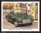 MORRIS MINOR Original Collectors Cards - 1000 Traveller Series II MM Tourer Van