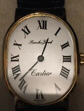 BUECHE-GIROD --- Cartier, 18K Yellow Gold Vintage Men's Automatic Dress Watch.