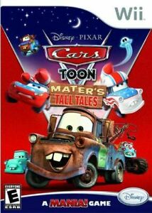 Cars Toon Mater's Tall Tales - Authentic Nintendo Wii Game
