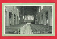 LEVER BROTHERS LTD. - PORT SUNLIGHT POSTCARD -  CHRIST  CHURCH  -  1906