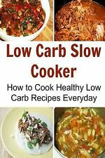 Low Carb Slow Cooker : How to Cook Healthy Low Carb Recipes Everyday by Deniz...