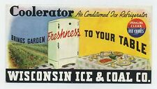 Coolerator Ice Refrigerator blotter