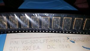 1x Vectron VS-500-LFF-HNN-320M000000 , Voltage Controlled SAW Oscillator 320MHz