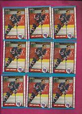 9 X 1989-90 OPC # 189 NY RANGERS GUY LAFLEUR NRMT-MT CARD (INV# 8363)