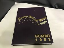1991 LSU Louisiana State University Gumbo Yearbook Shaquille Oneal Shaq