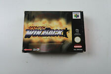 Operation Winback - Nintendo 64 (N64) PAL BOXED