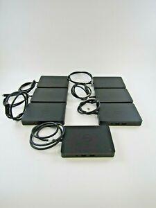 Lot of 7 Dell K17A Docking Stations - USB-C - 05FDDV - no AC