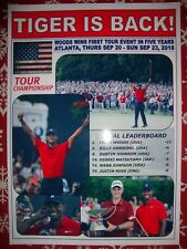 Tiger Woods 2018 Tour Championship champion - souvenir print