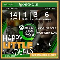 Xbox Game Pass Ultimate / Choose 14 Days or 1/3/6 Months - GLOBAL Xbox One/PC