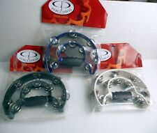 LOT 3 Alice Double Ring Tambourine ATB002 Assorted Colors FULL SIZE CHURCH CHOIR