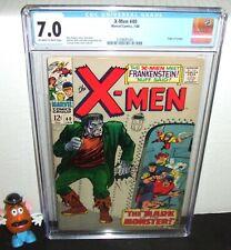 X-MEN #40 MARVEL 1968 ORIGIN OF CYCLOPS 1ST MARVEL FRANKENSTEIN MONSTER CGC 7.0